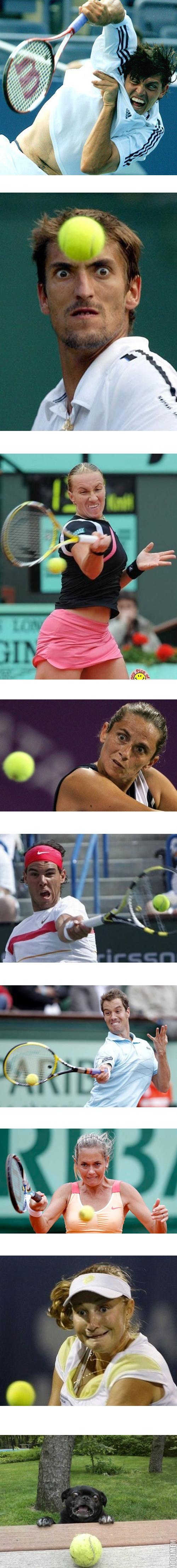 Теннисисты одержимые дьяволом