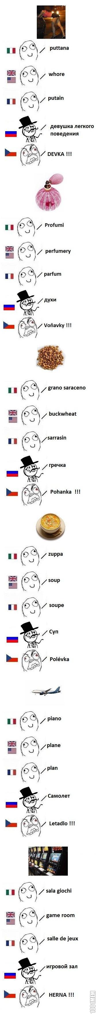 Чехи смотрят в суть вещей