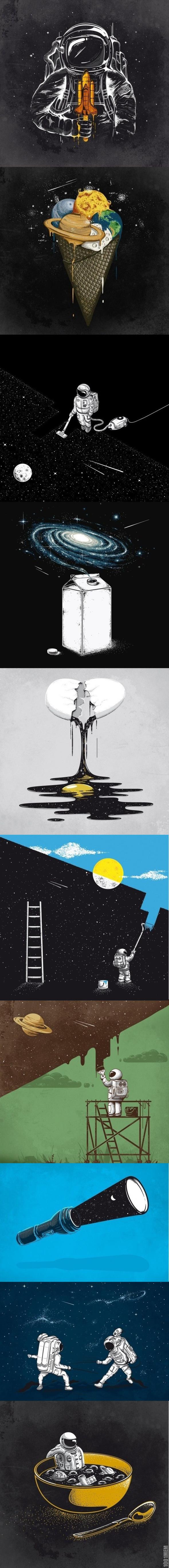 Космический сюрреализм